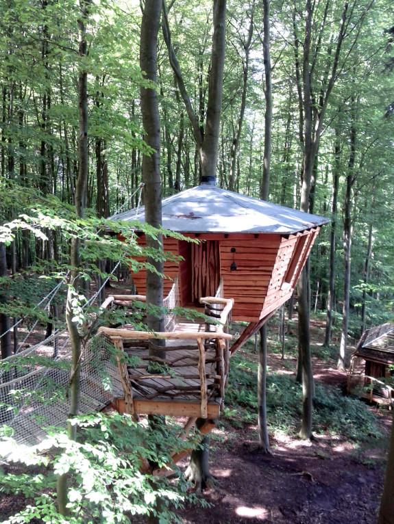 Baumhaus im Baumhotel