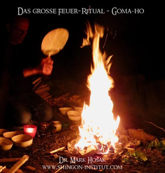 feuer ritual goma-ho mark hosak