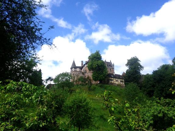Schloss Berlepsch beim Weg von Gut Hübenthal aus